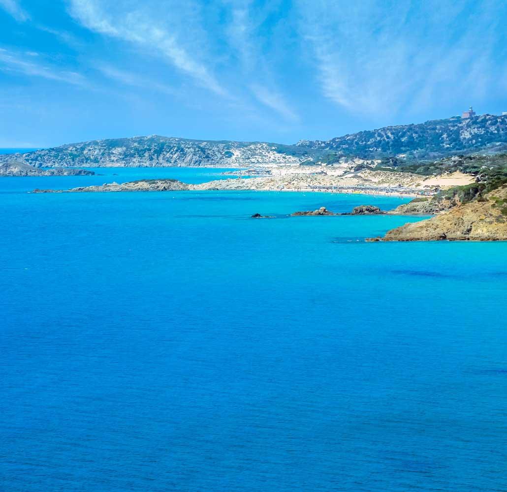 Chia in Sardegna